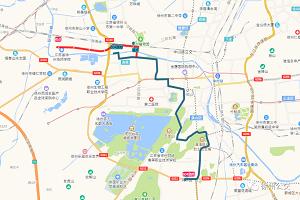 好消息!这条公交路线延伸至港务区!