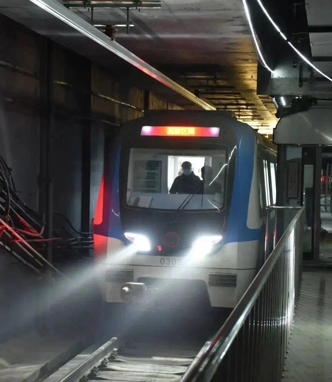 徐州地铁3号线试运行!